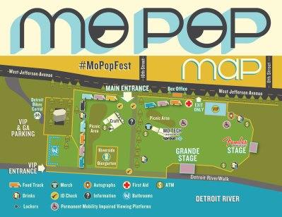 2015 Mo- Pop Festival Map