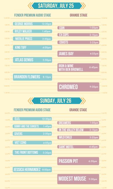 2015 Mo- Pop Schedule