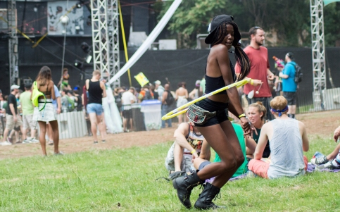 Hula Hoop at the Amazonia stage