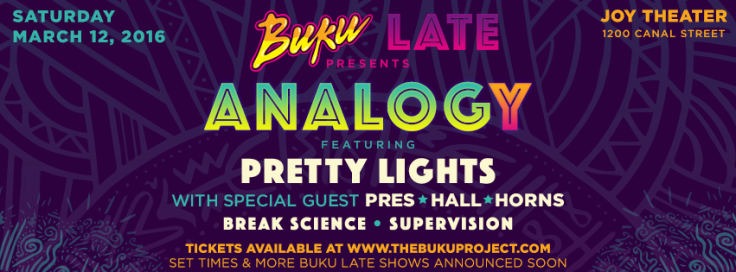 TheBukuProject.com - Buku Late - Pretty Lights