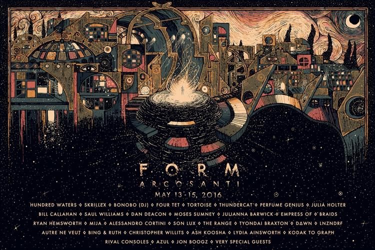 Form Arcosanti -FestivalForecast.com