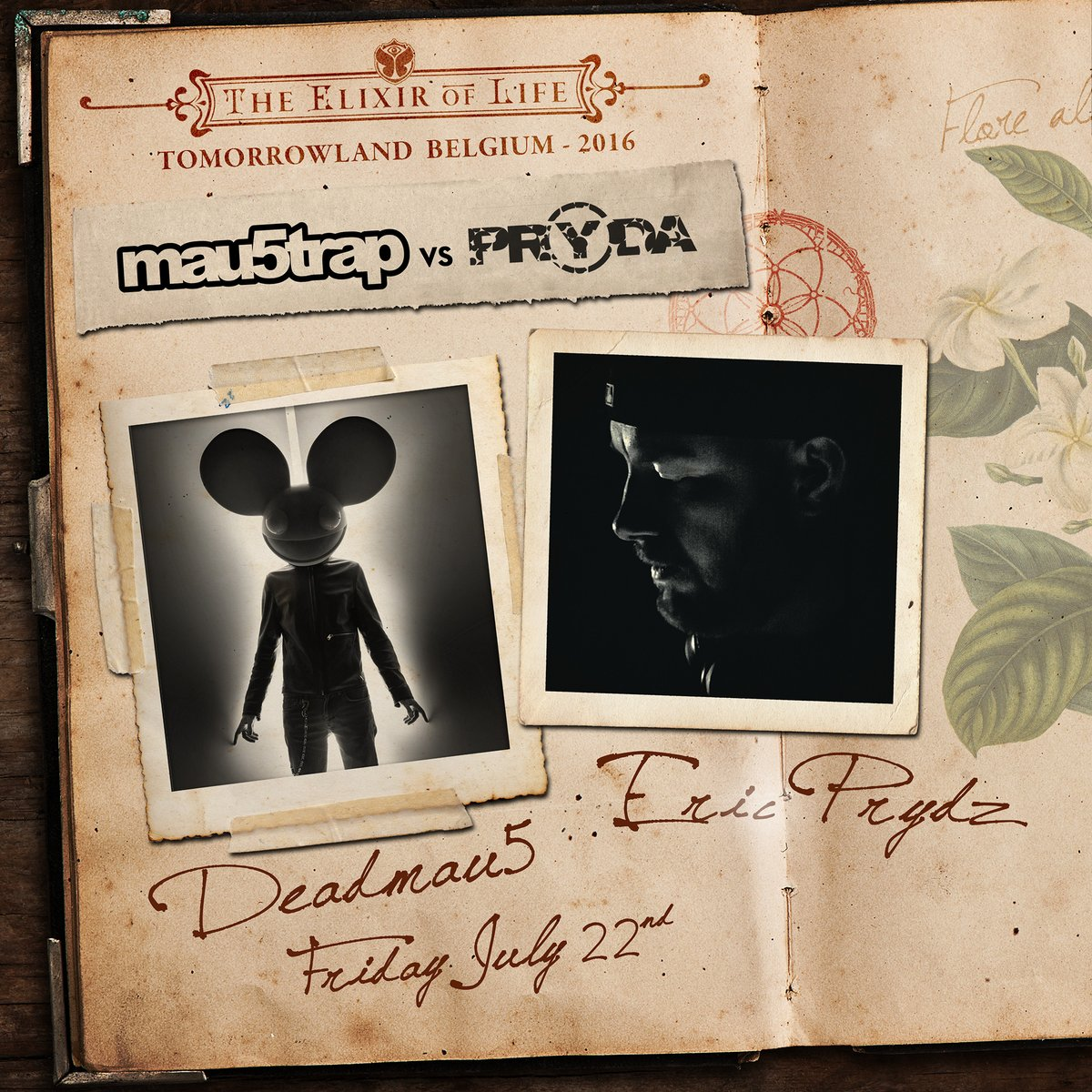 Via- @tomorrowland -Deadmau5 vs. Pryda - Tomorrowland