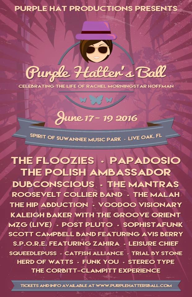 Puple Hatters Ball - Festivalforecast.com