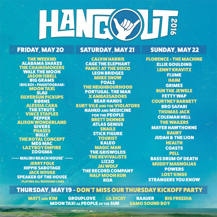 daily lineup hangout