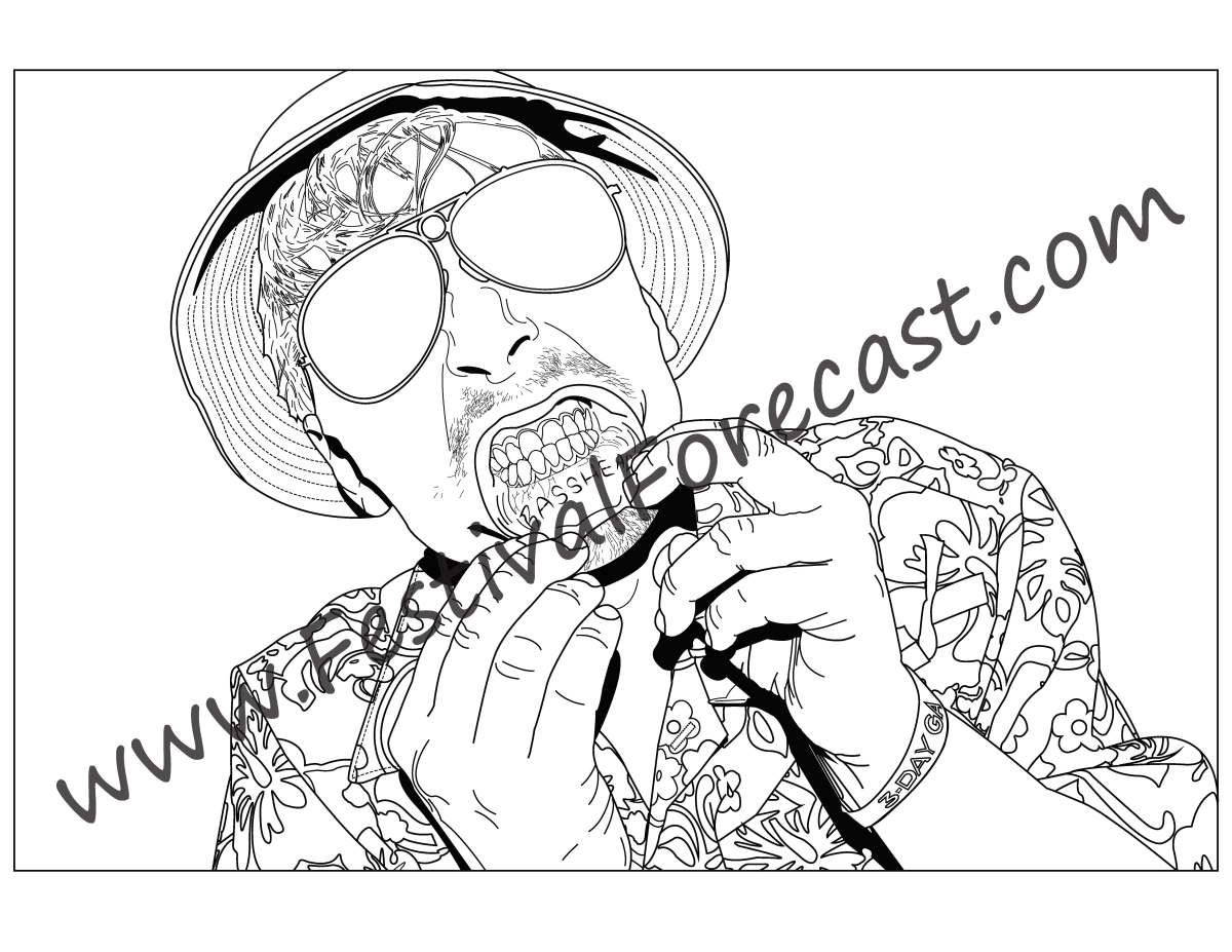The Festival Forecast Coloring Book